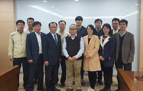 Hi-Target Visited Korea Land and Geospatial Informatix Corporation